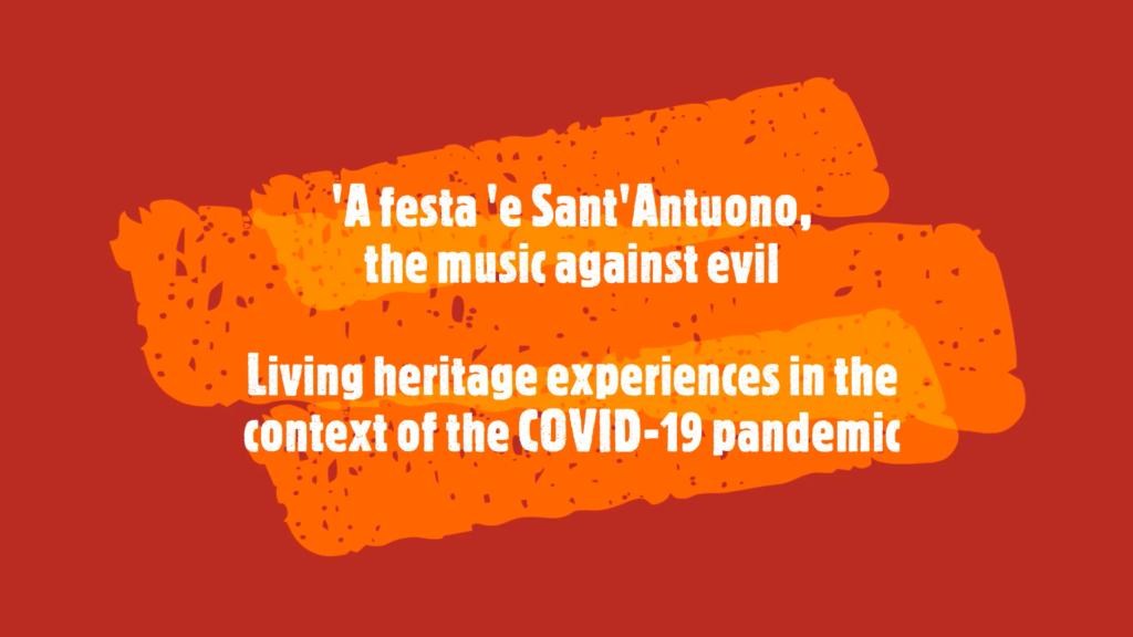 I bottari di Macerata Campania: il COVID-19 non ferma la musica di Sant'Antuono