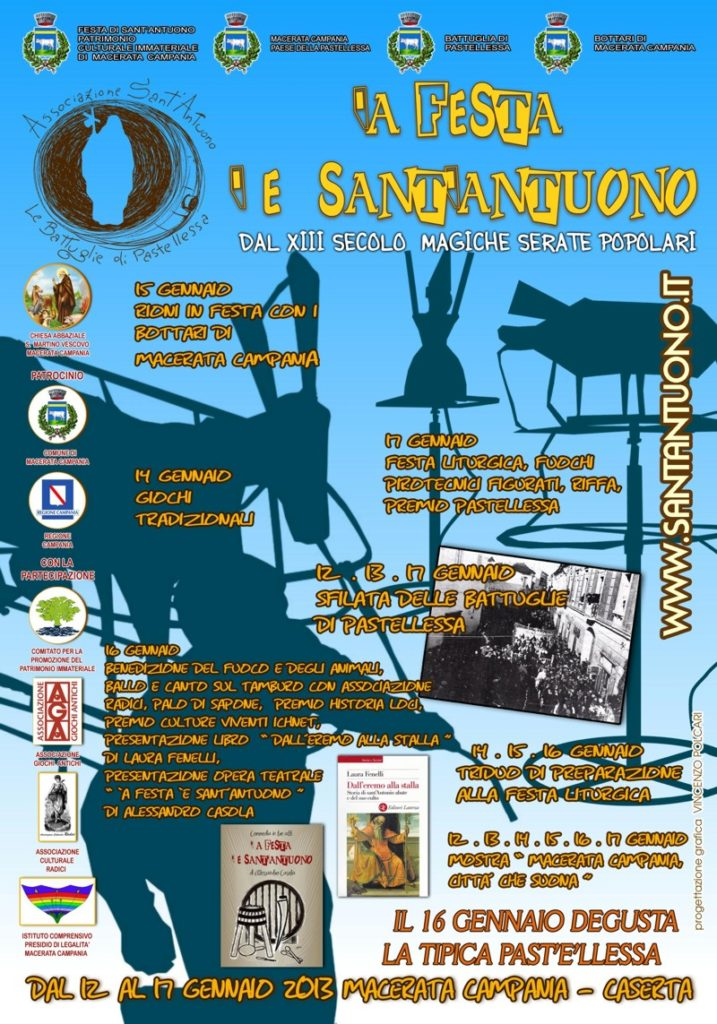 Festa di Sant'Antuono a Macerata Campania edizione 2013