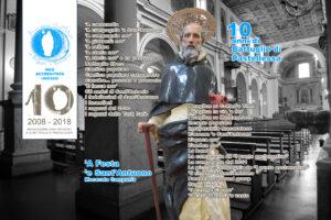 Cartolina commemorativa per annullo speciale Poste Italiane 28-12-2018