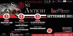 Dal 3 al 5 settembre 2021 il Festival dei Suoni Antichi a Macerata Campania